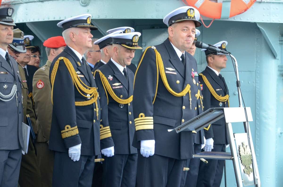 Przekazanie obowiązków dowódcy 3. Flotylli Okrętów