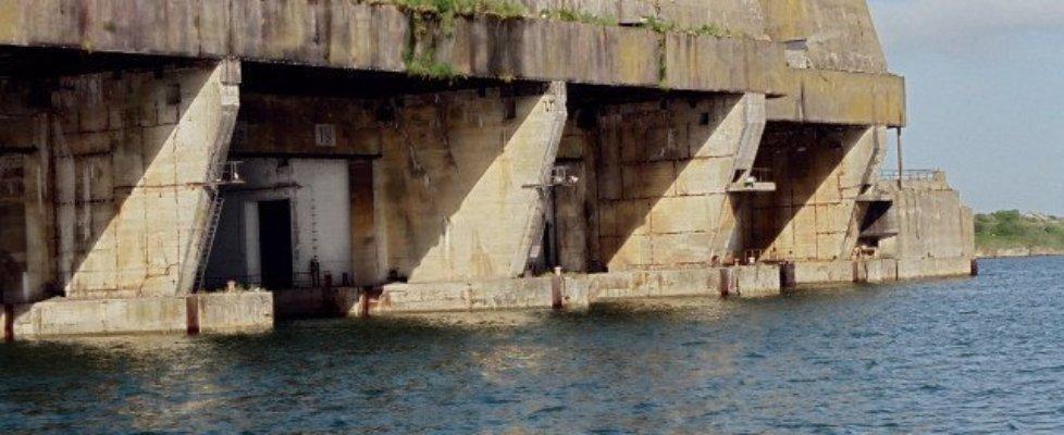 fot www.odkrywca.pl schron Lorient Francja