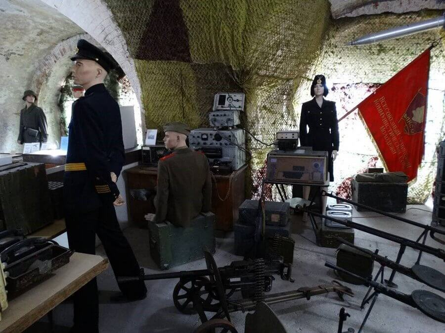 1. Na zdjęciu jedna z ekspozycji na Forcie Zachodnim. (fot. Fort Zachodni)