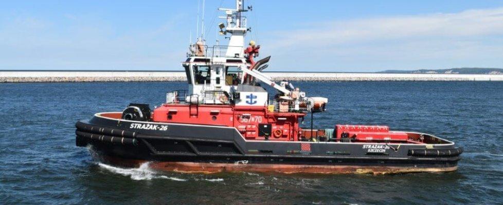 Zespół portów Szczecin i Świnoujście będzie miał nowy statek pożarniczy.