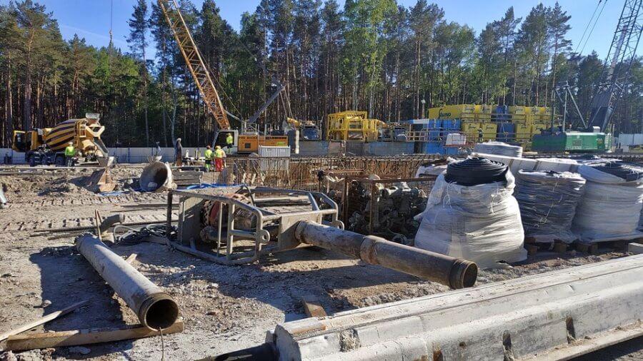 Świnoujście. Budowa tunelu. Zobacz aktualne zdjęcia z placu budowy i nie tylko.