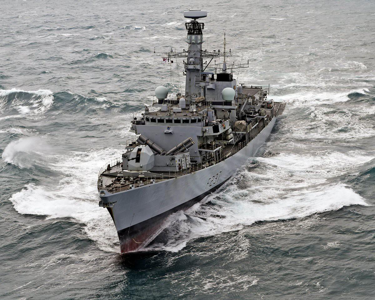 Brytyjska fregata zaprasza na pokład