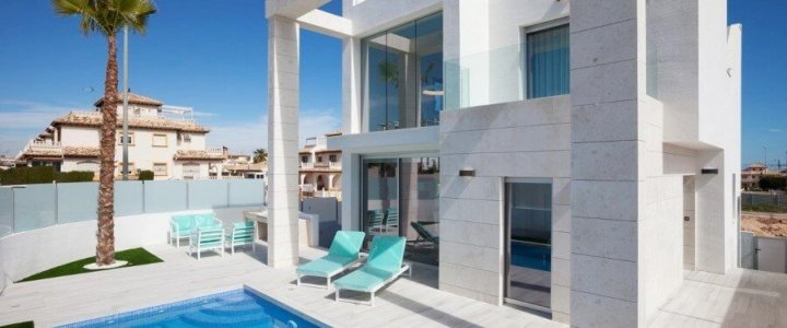 Hiszpania. Luksusowa willa z basenem w Cabo Roig, Oriheuela Costa.