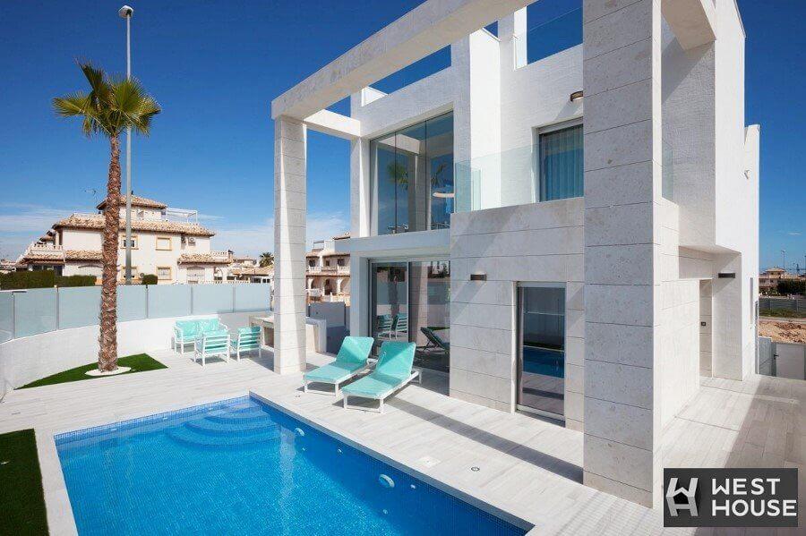 Hiszpania. Luksusowa willa z basenem w Cabo Roig, Oriheuela Costa