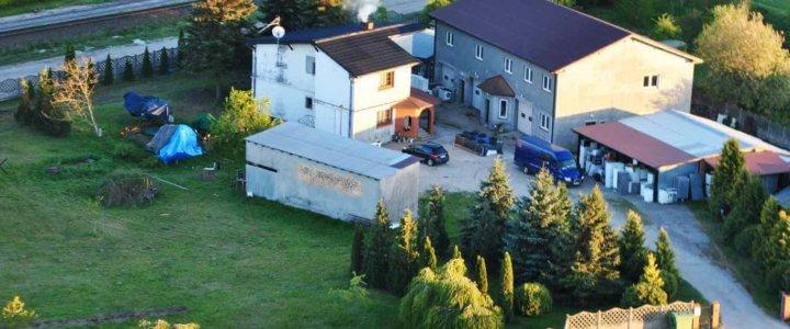 Dom i budynki magazynowo -warsztatowe z możliwościami inwestycyjnymi
