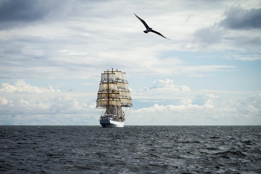 Dar Młodzieży wychodzi z Bałtyku. Po Kopenhadze, Stavanger