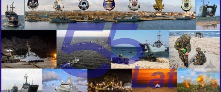 Świnoujście. 55 lat 8. Flotylli Obrony Wybrzeża.