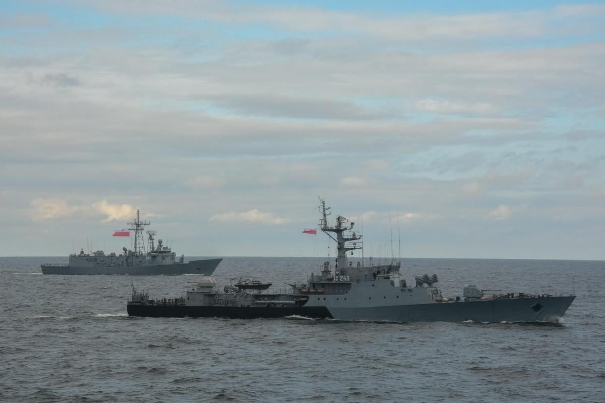 Manewry wojskowe Passex na Bałtyku