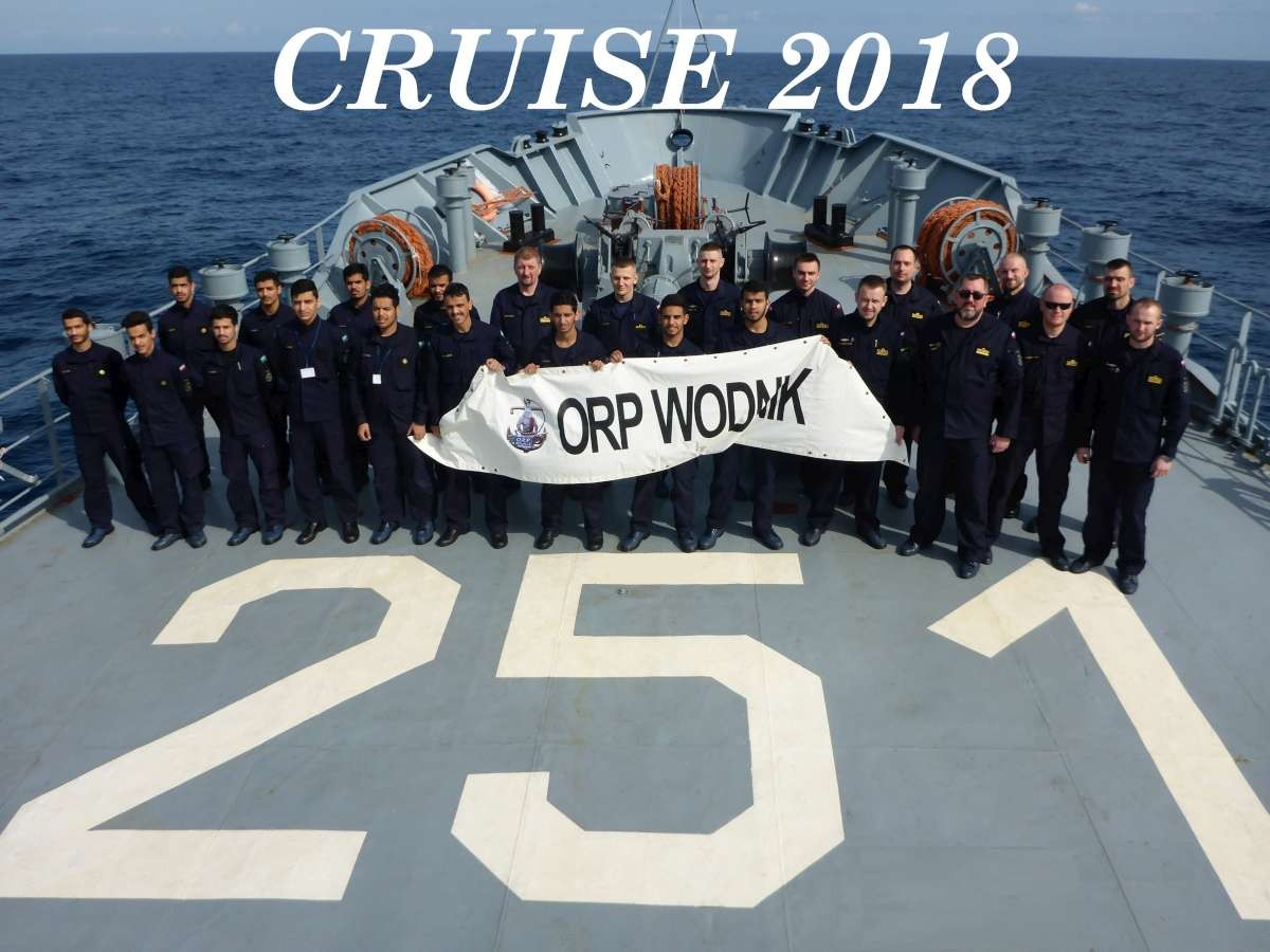 Morskie wieści z pokładu ORP Wodnik