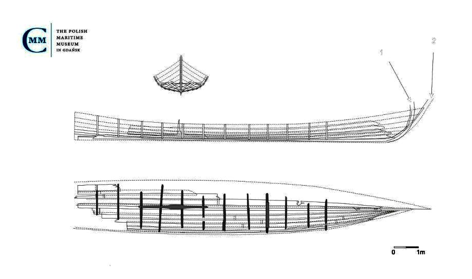 Na takich łodziach Słowianie rywalizowali z wikingami