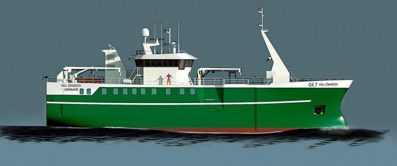 Stocznia ALKOR położyła stępkę pod budowę statku rybackiego