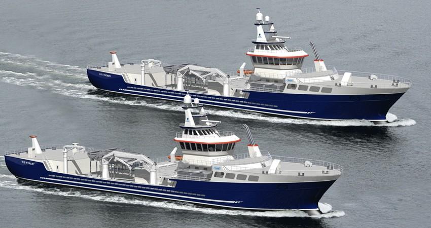 W stoczni CRIST zwodowano nowoczesny statek do przewozu ryb