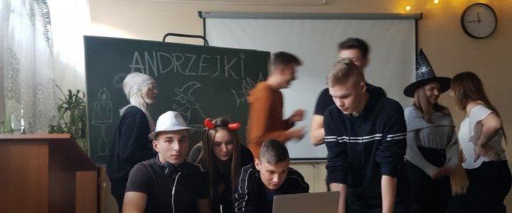 Świnoujście. Andrzejki w Centrum Edukacji Zawodowej i Turystyki.