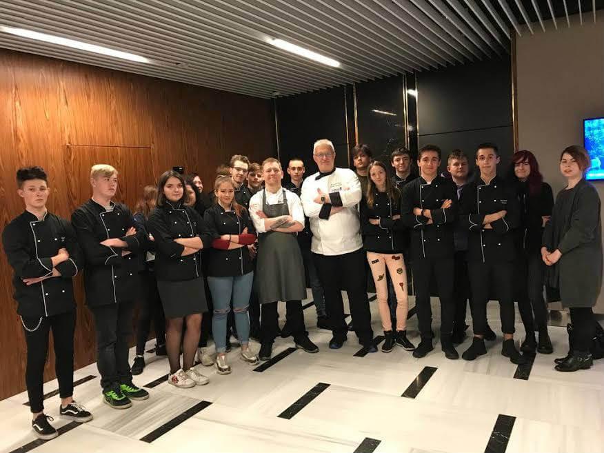 Świnoujście. Klasa II TZ i UG Centrum Edukacji Zawodowej i Turystyki w hotelu Radisson Blu...