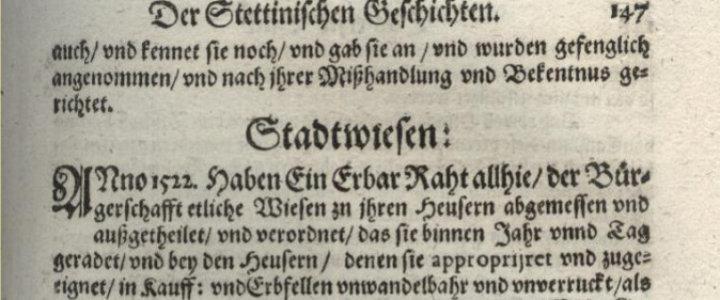 histioria szczecina reformacja