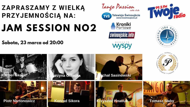 Drugi JAM SESSION organizowany w Świnoujściu w kawiarni Tango Passion.