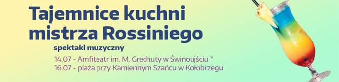 """Letni Festiwal Operowy: """"Tajemnice kuchni mistrza Rossiniego"""""""