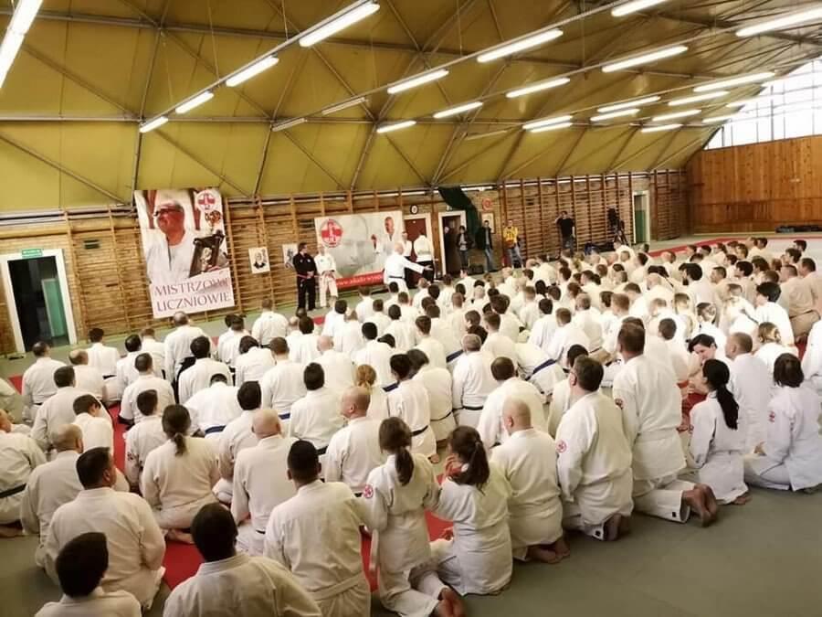 Aikidocy ze świnoujskiego Klubu Aikido Cuore na Memoriale w Szczecinie