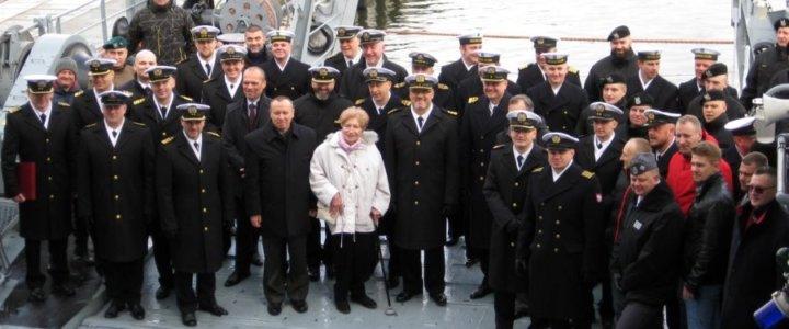 Świnoujście. 30 lat ORP Gniezno pod biało-czerwoną banderą.