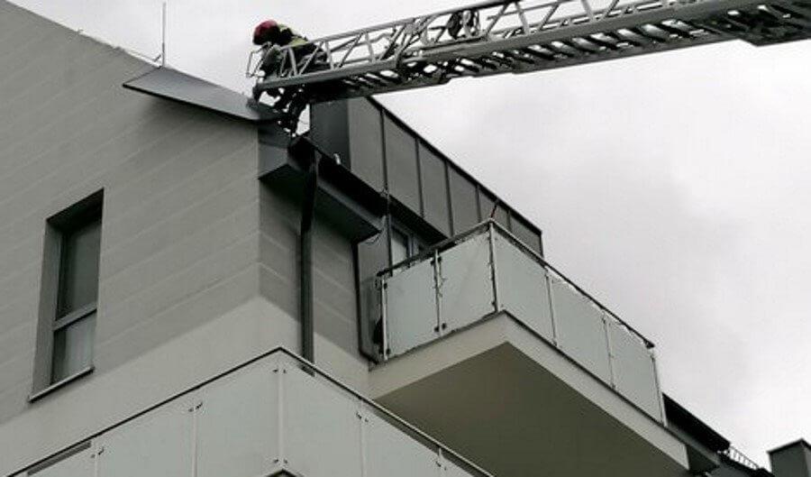 Świnoujście. Strażacy z 8.FOW w akcji.