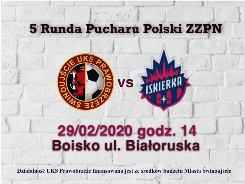 Świnoujście. Prawobrzeże Świnoujście -Iskierka Szczecin 5 runda Puchar Polski.
