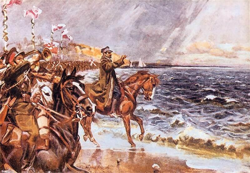 99. rocznica symbolicznych zaślubin Polski z morzem
