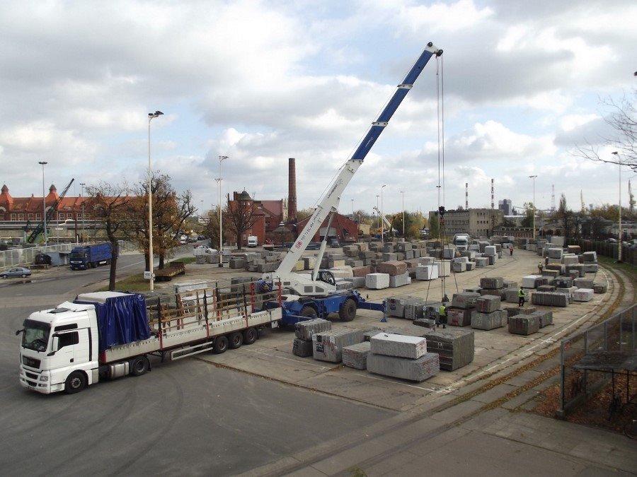 Port Szczecin przeładowuje najwięcej kamienia w Europie