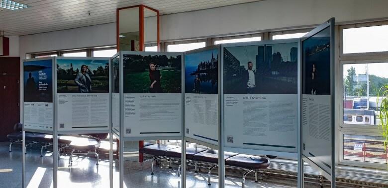 Polsko – szwedzka wystawa w terminalu promowym Świnoujście