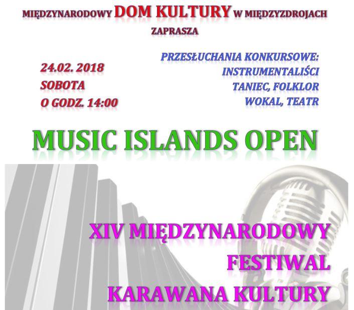 Muzyczne wyspy z Karawaną Kultury w Międzyzdrojach