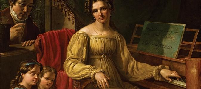 Portret rodziny – życie prywatne w obrazach biedermeieru