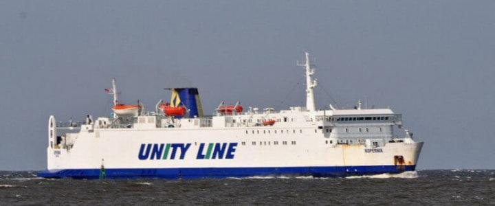 Z trasy Świnoujście-Ystad do Grecji. Nowa misja Kopernika.