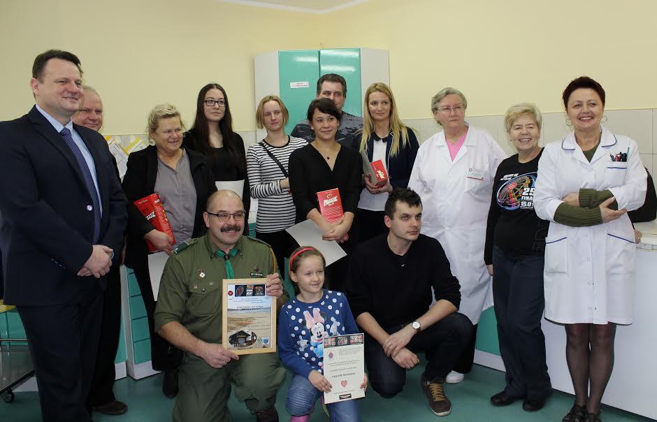 Oddali ponad 77 litrów krwi dla WOŚP