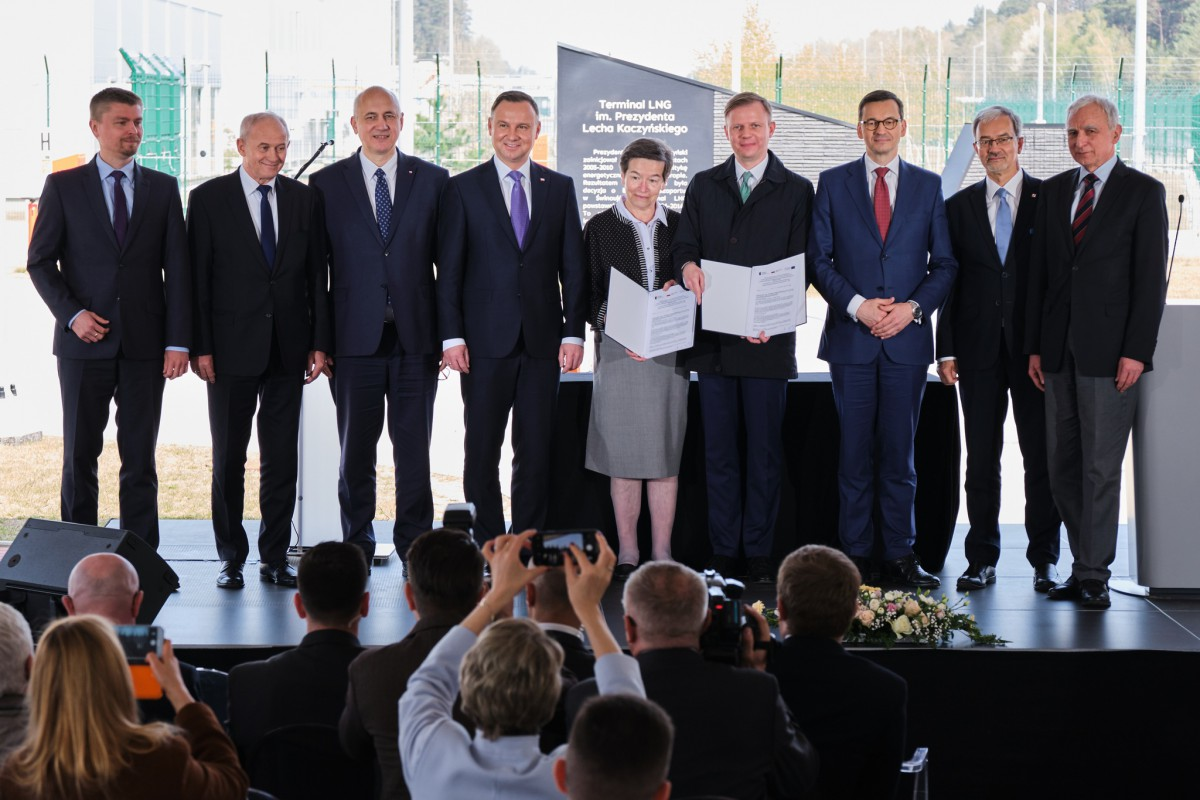 Świnoujście. Podpisano umowę na rozbudowę terminalu LNG