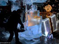 lodowe rzeźby 2017 Plac Wolności