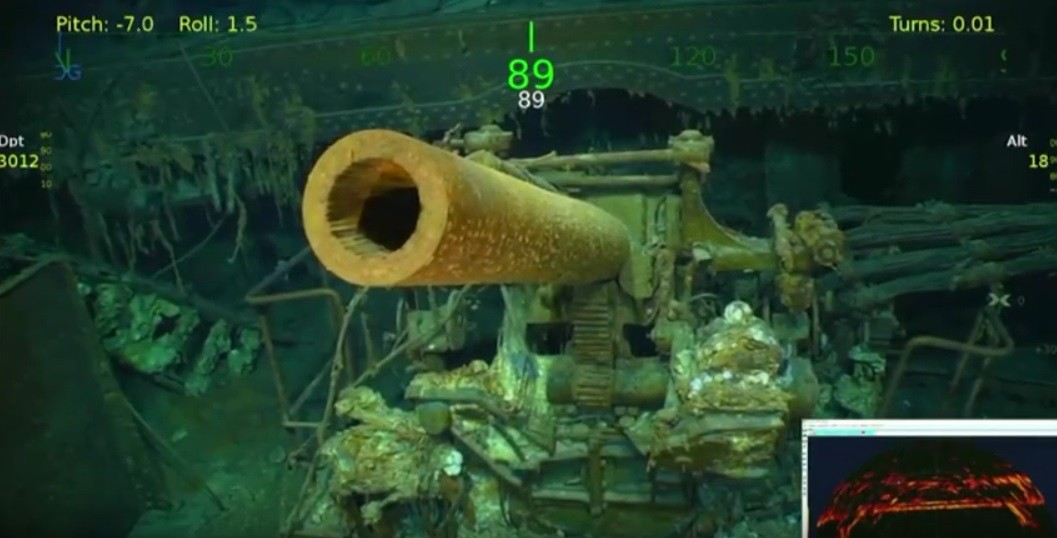 Odnaleziono wrak lotniskowca USS Lexington (wideo)