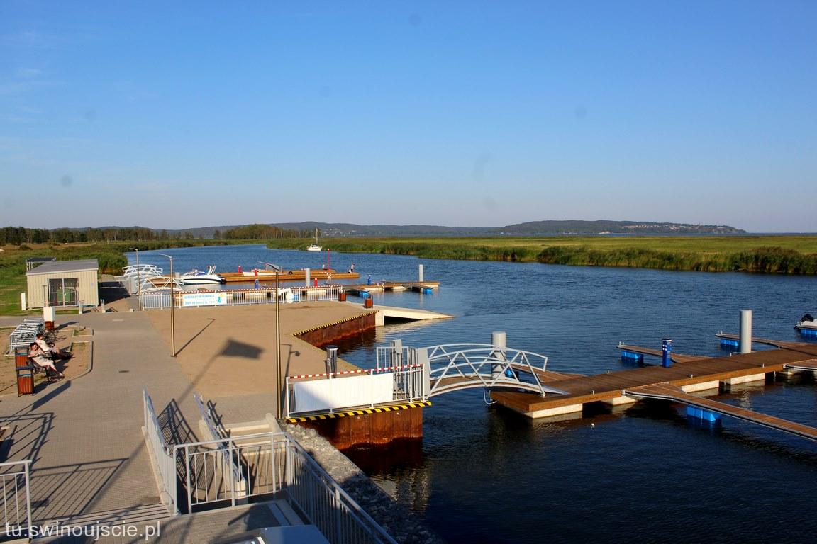 Świnoujście - Łunowo. Nowa marina, tu warto przyjechać.