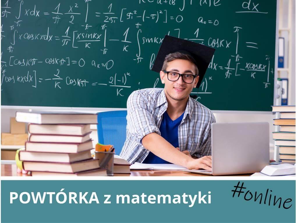 Ostatnie szlify przed maturą - korepetycje z matematyki online dziś i jutro dostępne dla wszystkich.