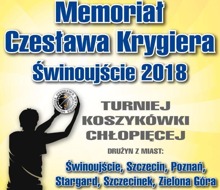 Memoriał Czesława Krygiera Świnoujście 2018