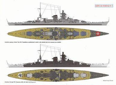 """Niemieckie Pancerniki typu """"Scharnohorst"""""""