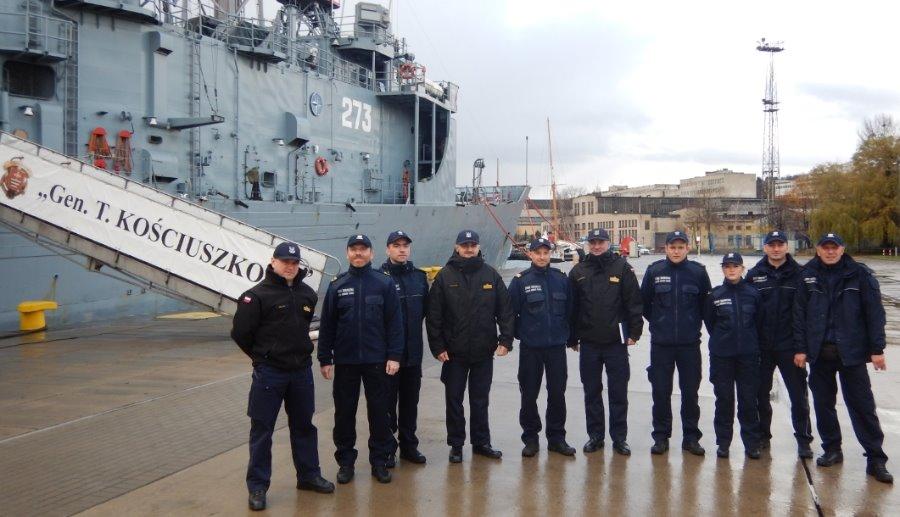 Wspólne szkolenie Straży Granicznej i Marynarki Wojennej