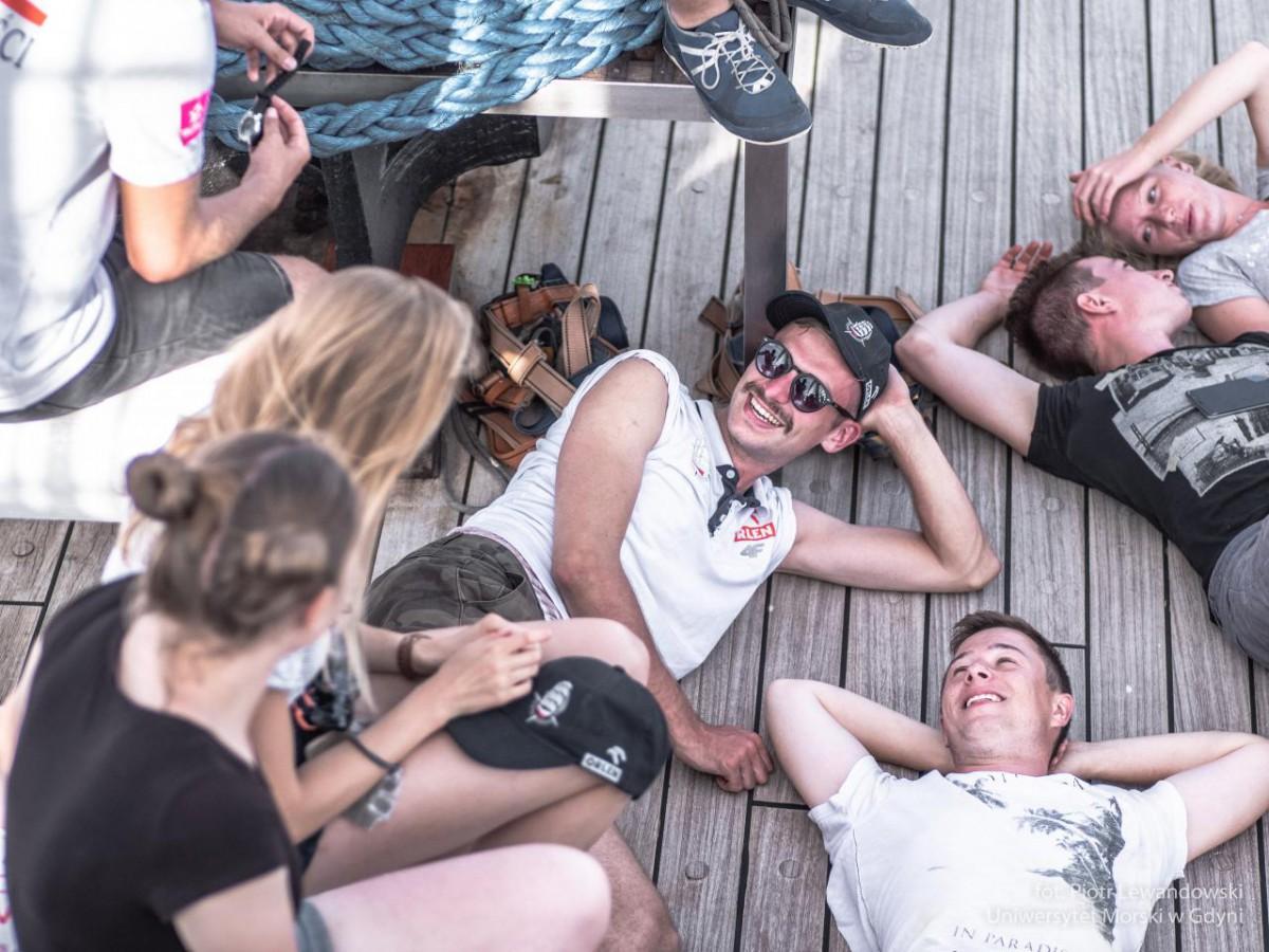 Dar Młodzieży na Morzu Południowochińskim