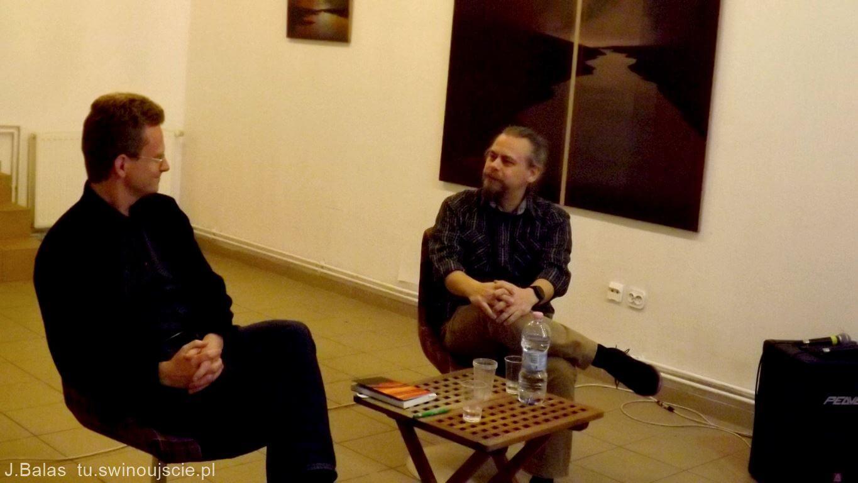 Świnoujście. W sobotę w Galerii ms44 gościł autor kryminałów Sören Bollman.