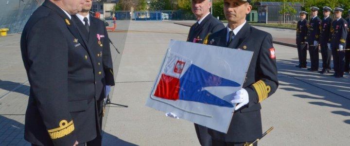 Nowy dowódca Dywizjonu Okrętów Bojowych.