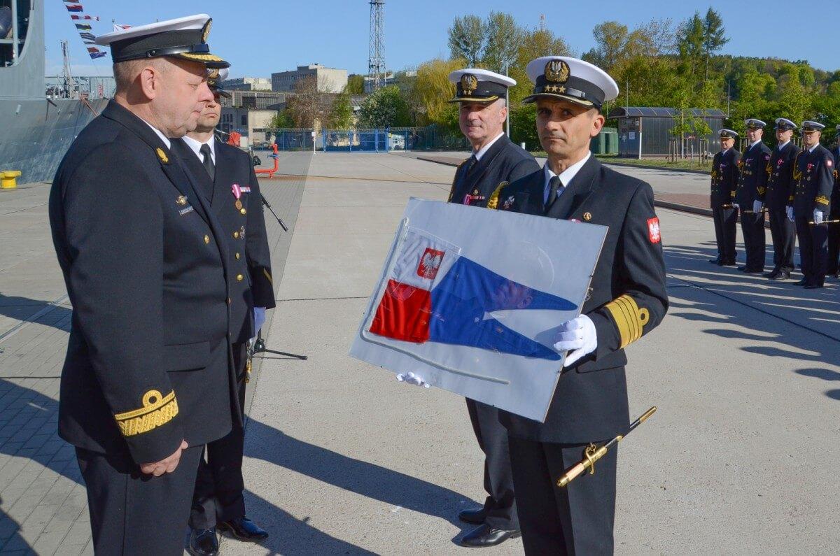 Nowy dowódca Dywizjonu Okrętów Bojowych