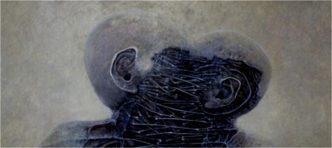 Wystawa czasowa: Zdzisław Beksiński – opowieść cieniem