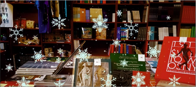 Świąteczny Kiermasz Książek w Muzeum Narodowym w Szczecinie