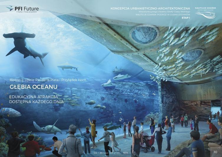 Znamy datę otwarcia oceanarium w Gdańsku. (wizualizacje)