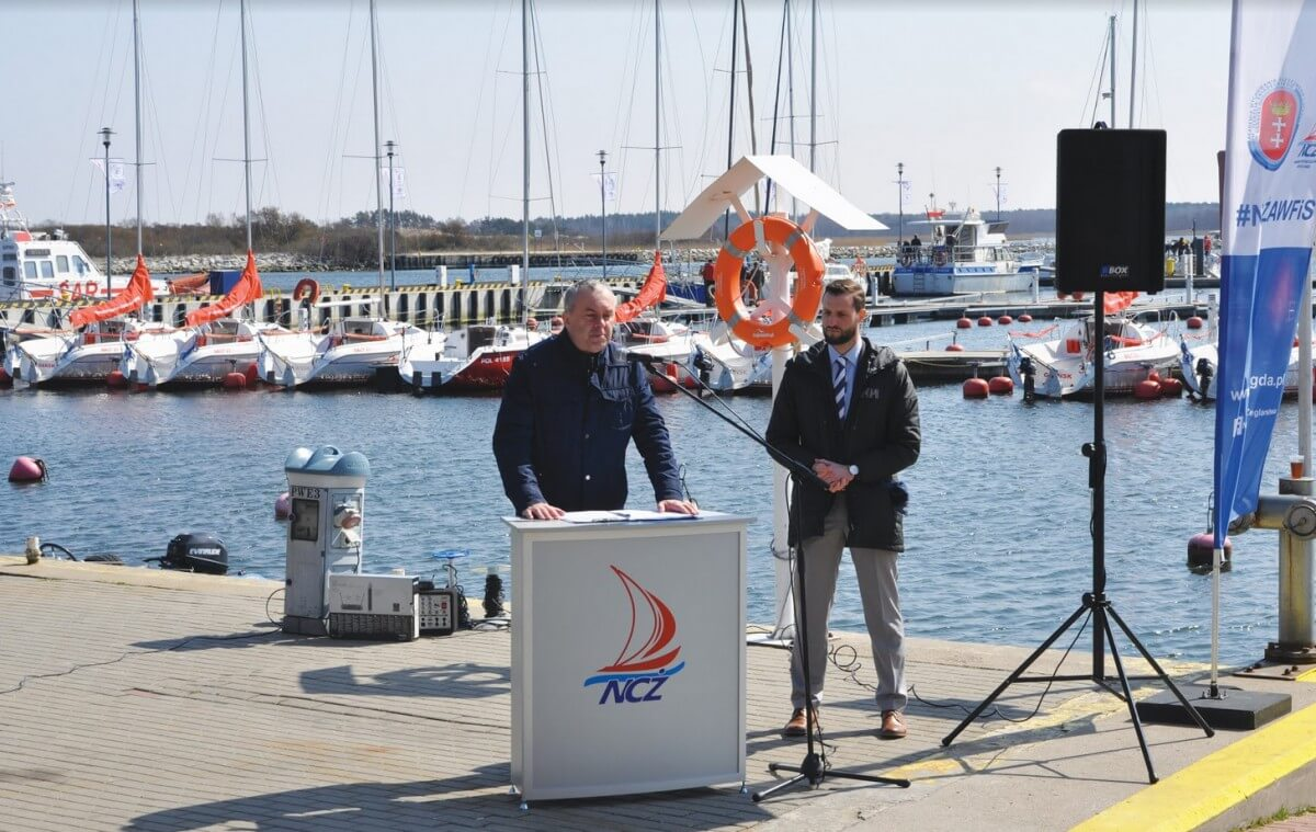 W Narodowym Centrum Żeglarstwa AWFiS zainaugurowano sezon żeglarski
