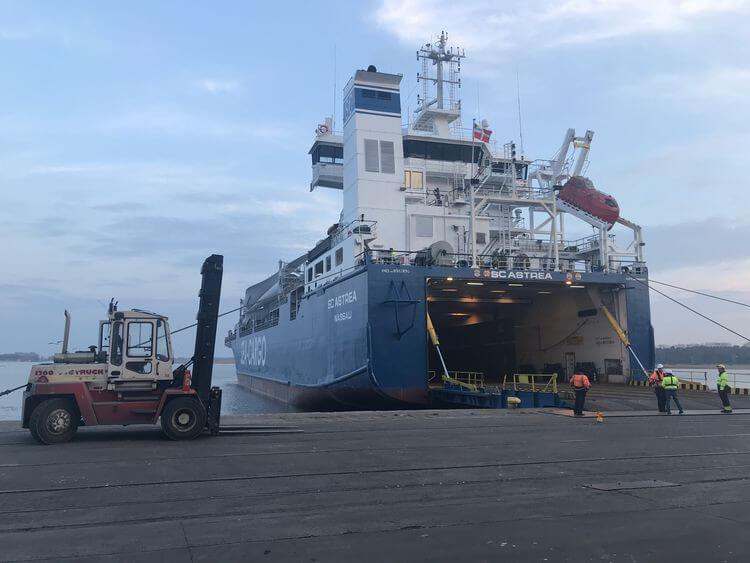 Nowe połączenie cargo ze Świnoujścia