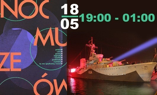 Historia polskiej floty nocą